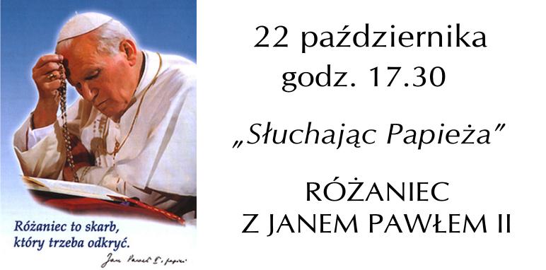 różaniec z papieżem
