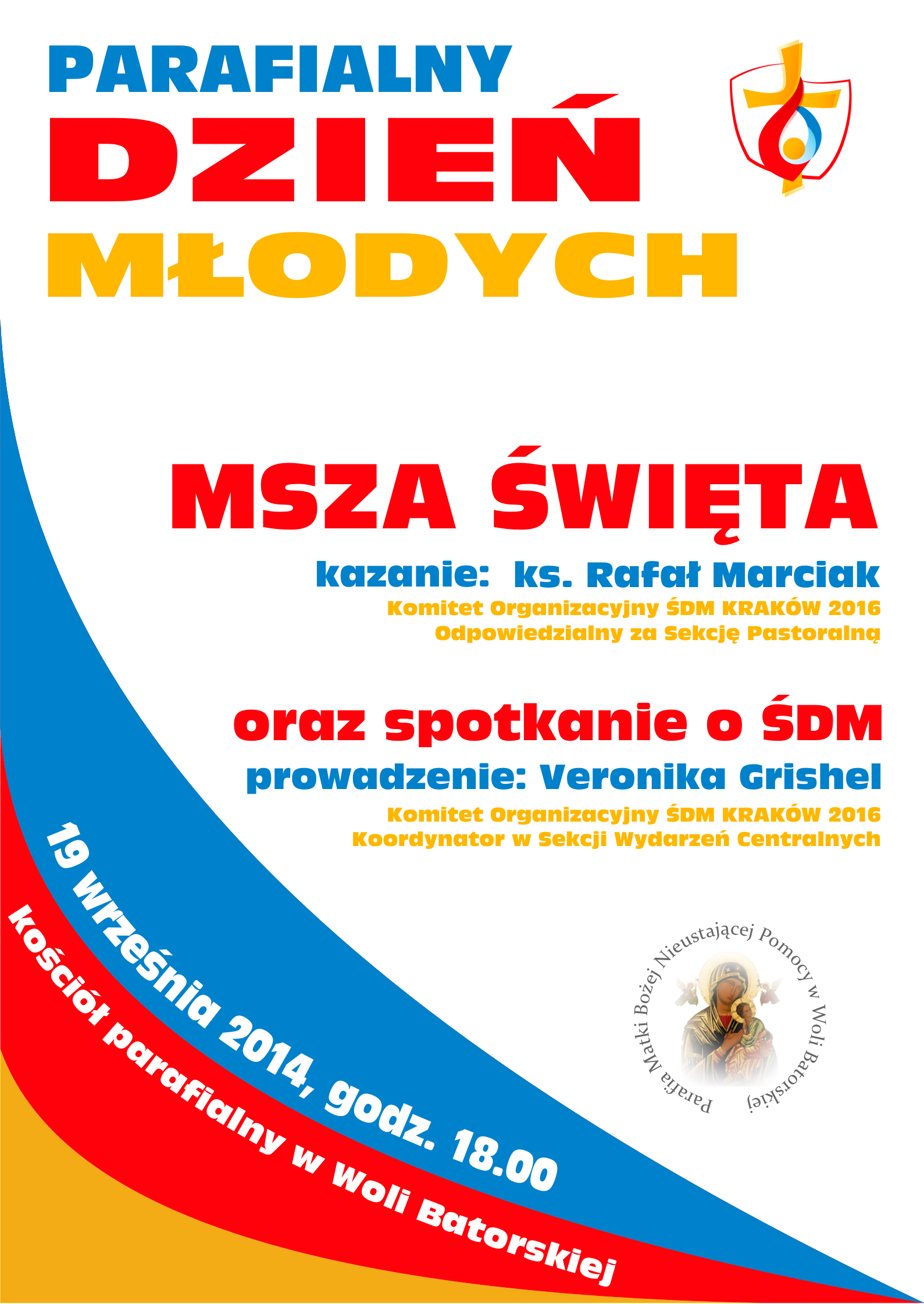 parafialny dzień młodych - 2014 - plakat