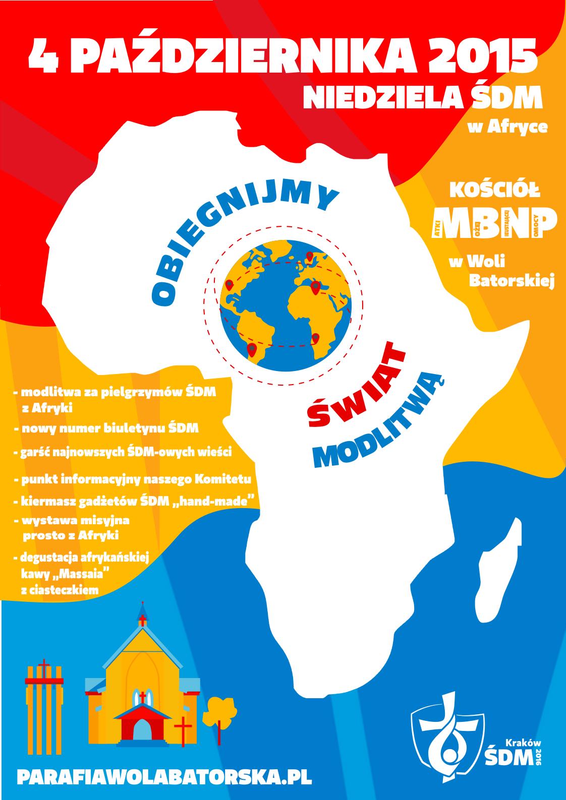 modlitwa za Afrykę - 2015.10.04 - plakat