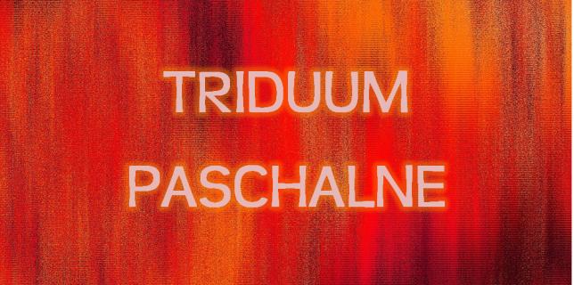 TRIDUUM - pierwsza strona