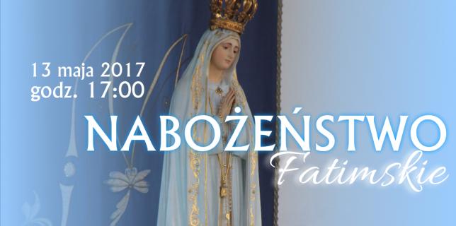 nabożeństwo fatimske 2017 slajd