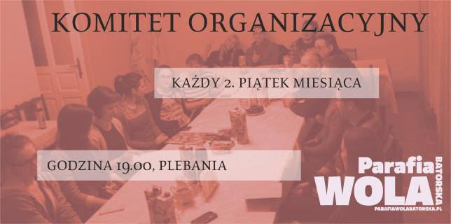 Spotkania Komitetu Organizacyjnego
