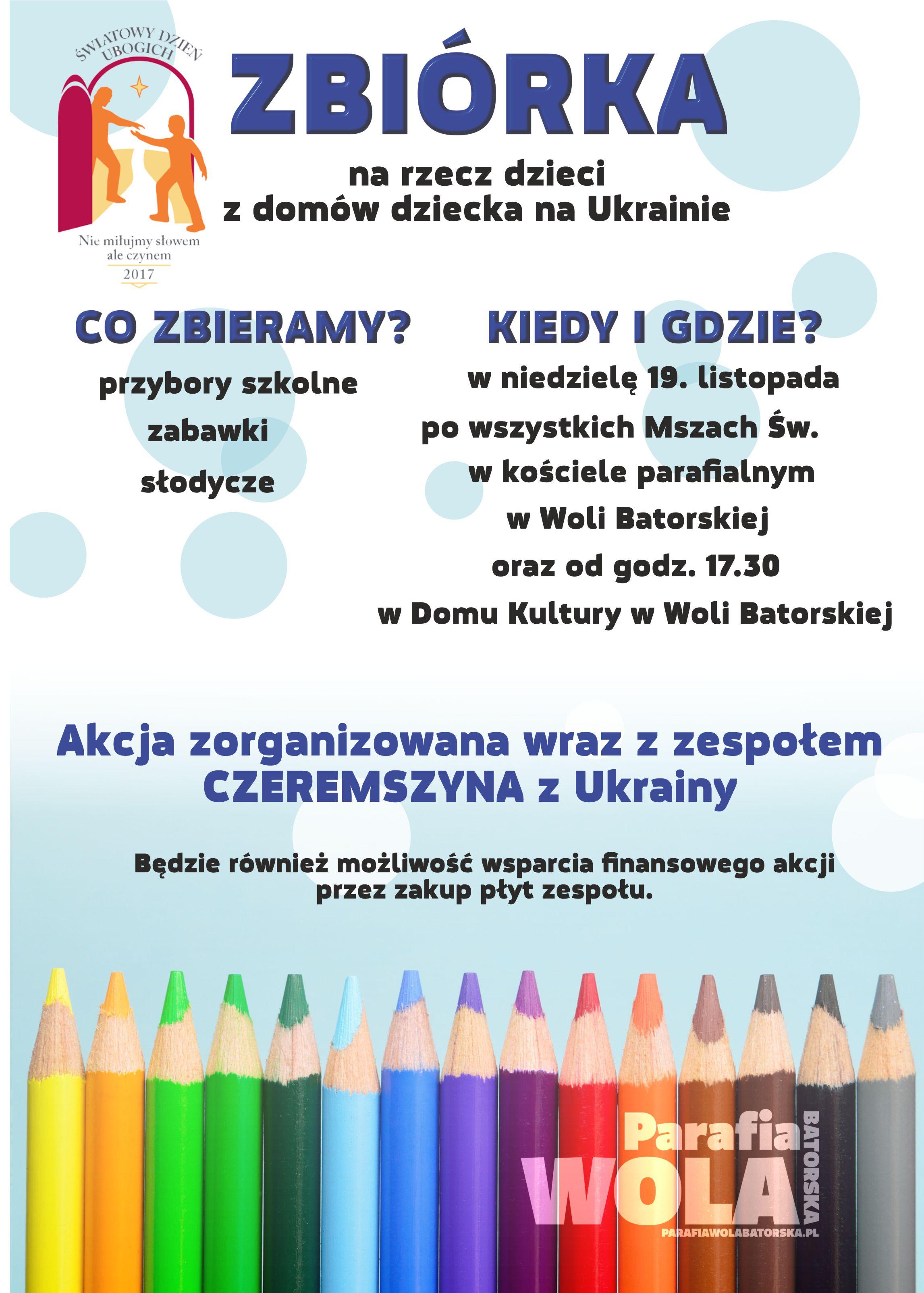 plakat zbiorka na stronę
